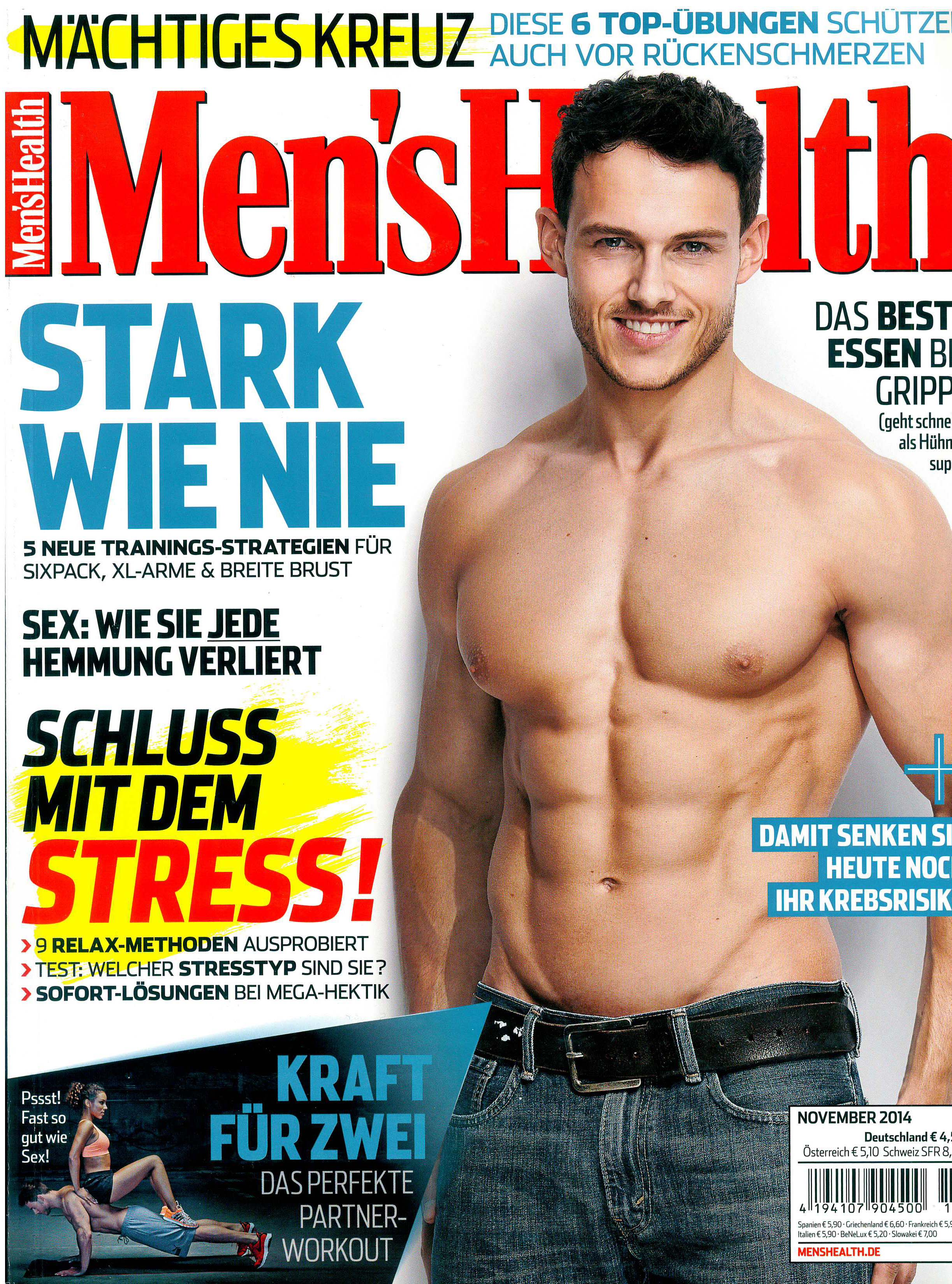Men's Health_November 2014_Cover